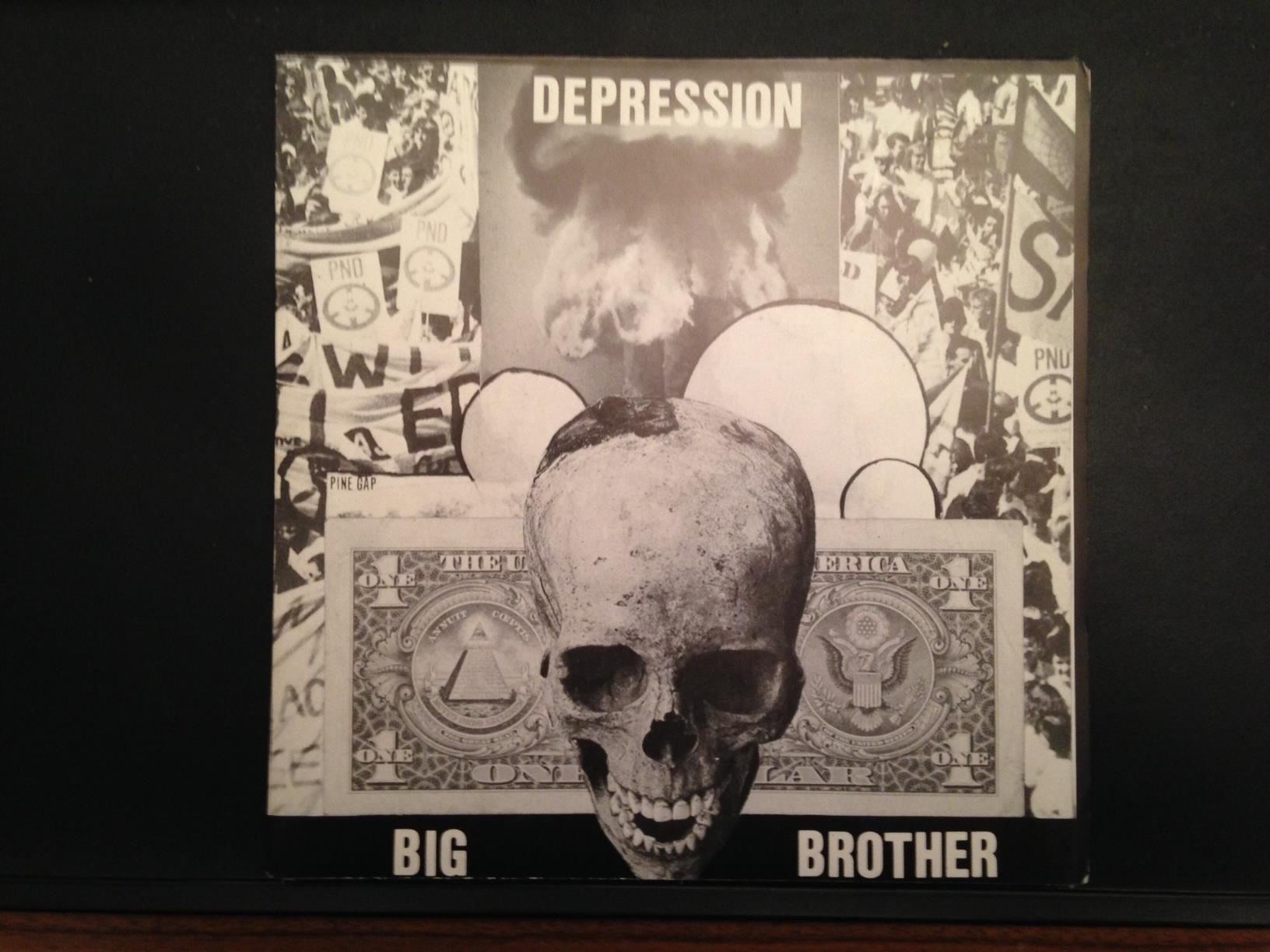 DEPRESSION – Big brother 7″ on Cleopatra Records