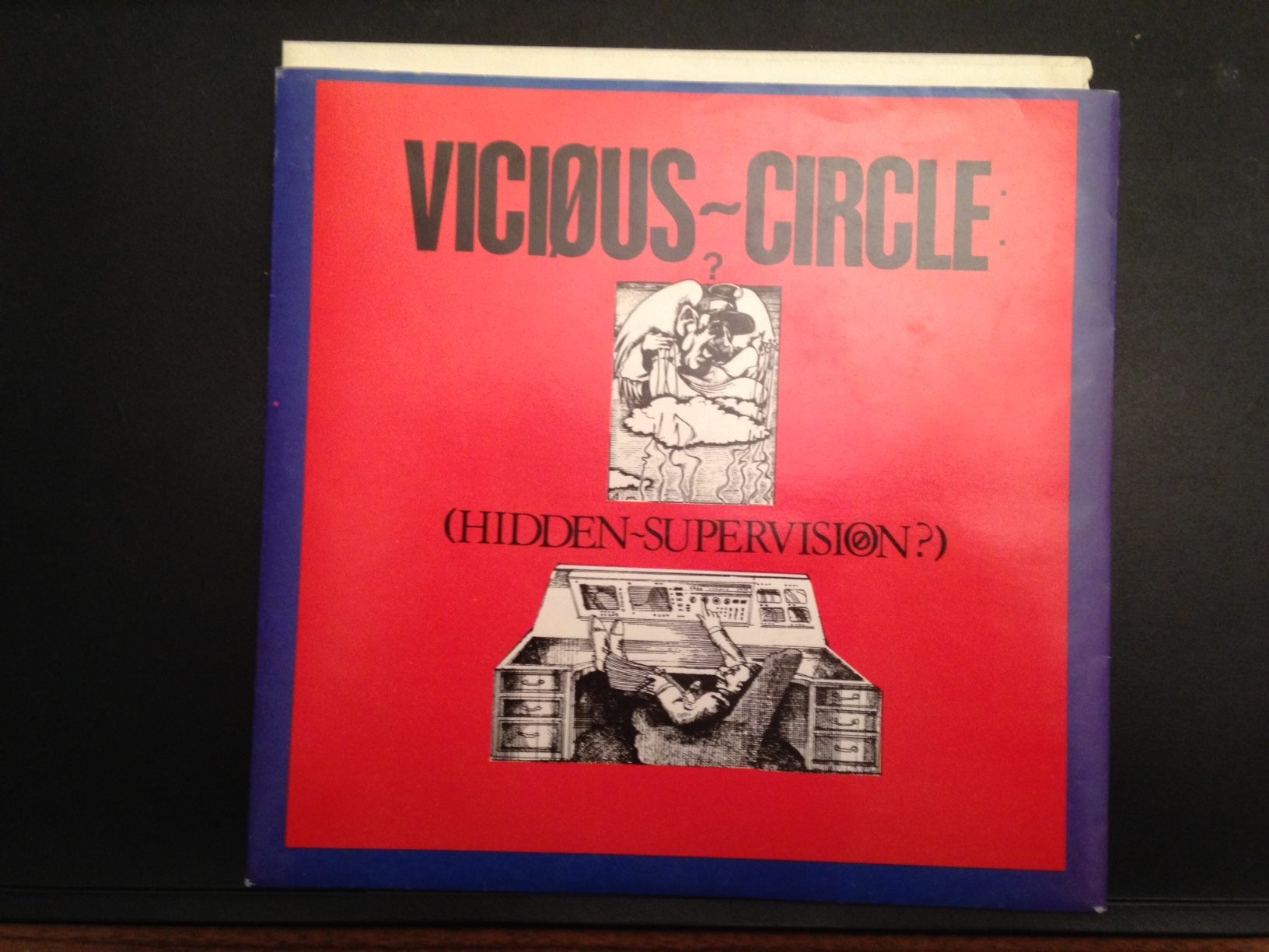 VICIOUS CIRCLE – Hidden Supervision 7″ on Reactor