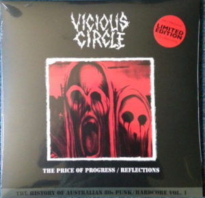 PRE SALE STARTS for the VICIOUS CIRCLE – The Price Progress/ Reflections 2xLP