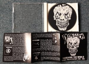 DEPRESSION – Thrashing the World – A small piece of History '83-'85 CD
